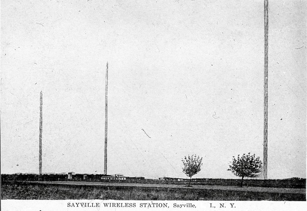 Telefunken Station, Sayville, NY